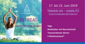 Yoga Retreat Entfalte dein Selbst